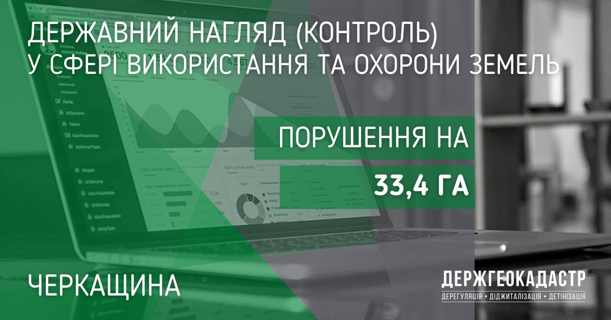 За результатами здійснення державними інспекторами заходів державного контролю територіальна громада Черкащини в серпні  2021 року одержала компенсацію у розмірі понад 155 тис. грн.